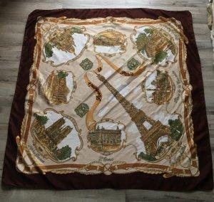 Seiden Halstuch aus Paris mit Paris Muster