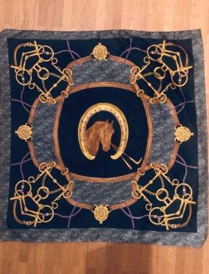 Seiden Halstuch mit Pferdekopf