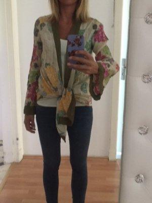 Rare london Kimono blouse veelkleurig