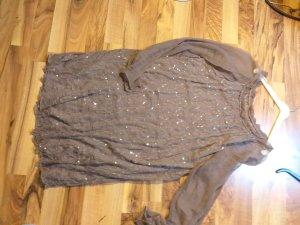 seiden Kleid