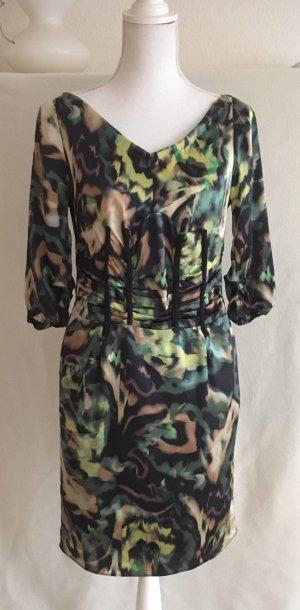 Dorothee Schumacher Corsage Dress multicolored silk
