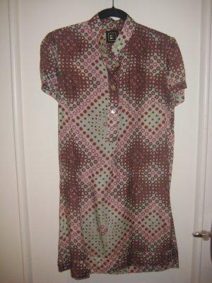 seiden kleid kurzarmig 0039 ITALY