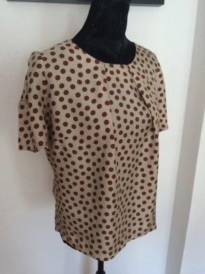 Seiden Shirt mit Tupfen von Thomas Rath