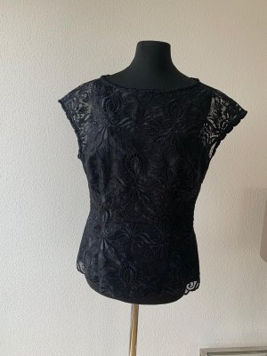 Escada Lace Blouse black