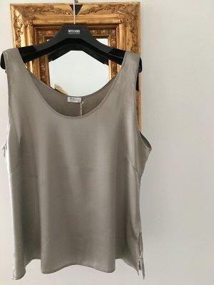 Top linea A argento-grigio chiaro
