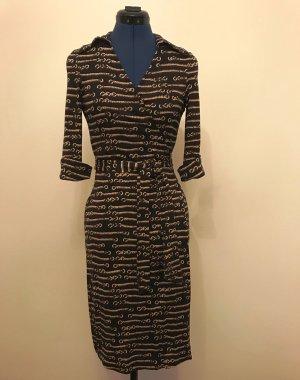 Diane von Furstenberg Robe portefeuille multicolore