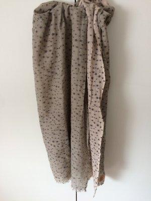 Becksöndergaard Wollen sjaal groen-grijs-lichtgeel