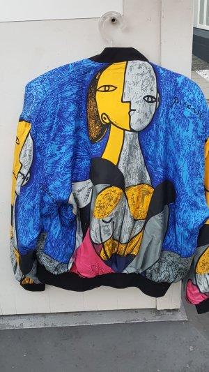 Blouson multicolored silk