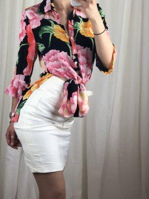 Antonette - Franz Haushofer Silk Blouse multicolored silk