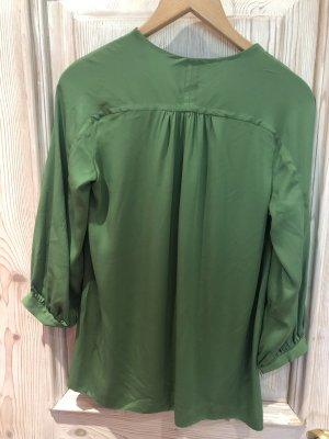 Diane von Furstenberg Zijden blouse bos Groen