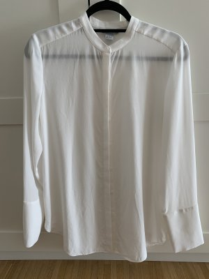 H&M Premium Stand-Up Collar Blouse natural white