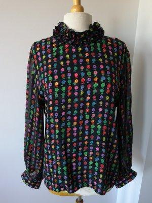 Akris Blouse en soie multicolore