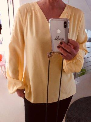 Camicetta da notte giallo chiaro-giallo