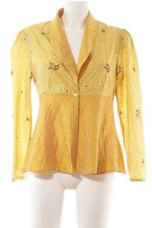 Seidenbluse dunkelgelb-gelb Elegant