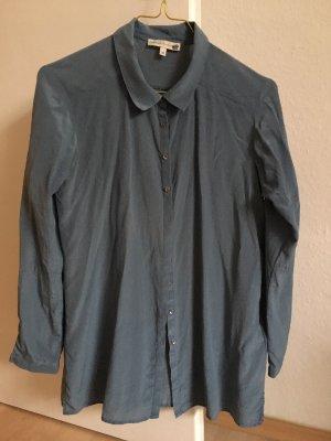 Jackpot Blusa de seda gris pizarra