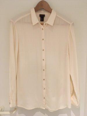 H&M Silk Blouse multicolored silk