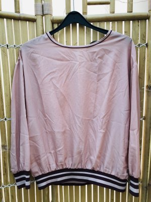Zara Splendor Blouse dusky pink-dark red