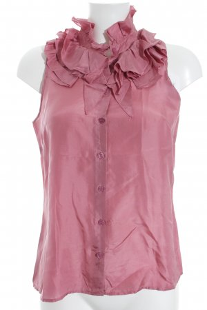 Zijden blouse roze casual uitstraling