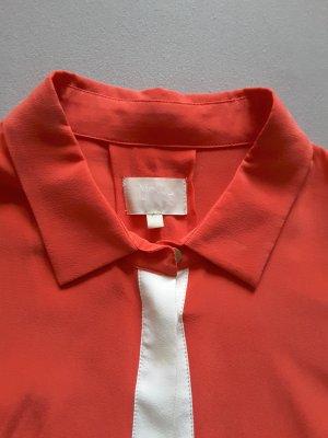 Seidenbluse rot Mrs &Hugs Breuninger Gr. 40 neu