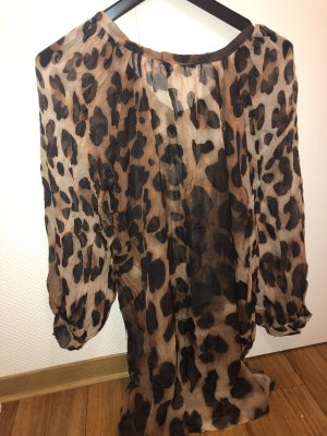 Ana Alcazar Zijden blouse veelkleurig