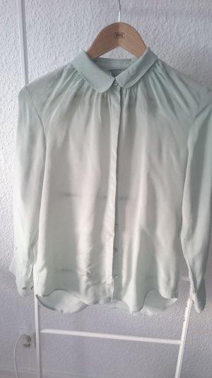 H&M Camicetta a blusa verde pallido