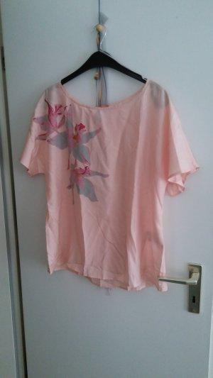 Hugo Boss Zijden blouse veelkleurig Zijde