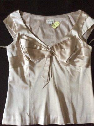 KAREN MILLEN Blouse natural white silk