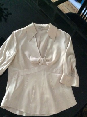 KAREN MILLEN Silk Blouse natural white silk