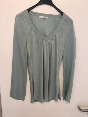 Blaumax Blusa de seda turquesa Seda