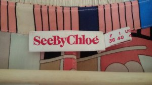 Seidenbluse von SeebyChloe