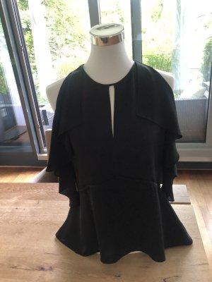 Theory Silk Blouse black silk