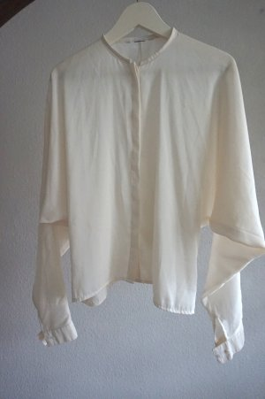Long Sleeve Blouse white-natural white