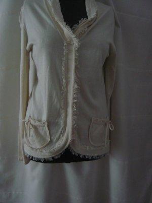 seidende  Pullover, creme , von Olsen Größe  38