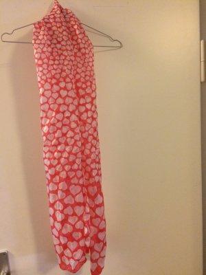 Codello Bufanda de seda rosa