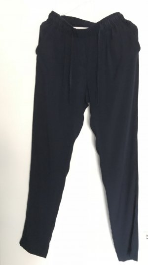 Witty Knitters Pleated Trousers dark blue