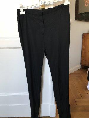 COS Stoffen broek zwart Zijde
