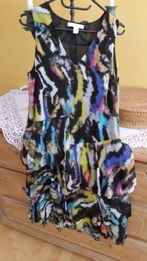 H&M Robe chiffon multicolore soie