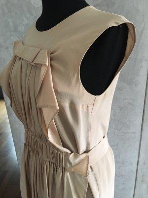 COS Off-The-Shoulder Dress cream