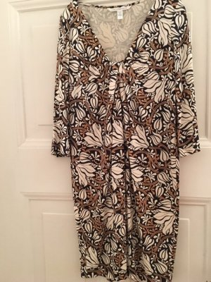 Diane von Furstenberg Longsleeve Dress multicolored silk