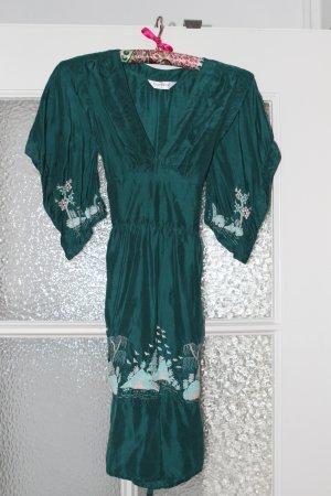 Topshop Hippie Dress multicolored silk
