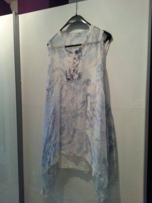 Seidenkleid Kleid Tunika Gr.M L