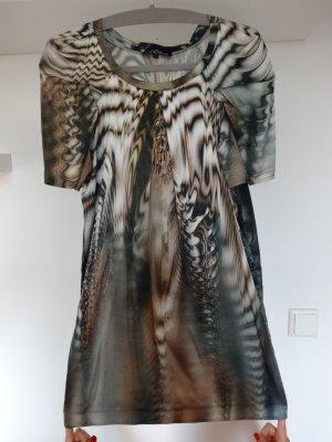 Seidenkleid mit sensationellem Print