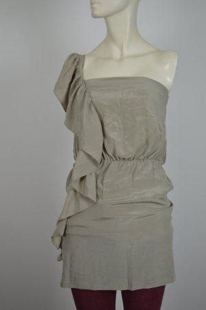 Seidenkleid One Shoulder Dress Boutique by Topshop Gr. XS