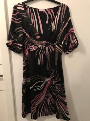 Max & Co. Coat Dress multicolored silk