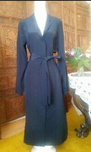 COS Blouse Dress blue silk