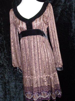 Seidenkleid von Max & Co, trends, Gr. 38 (empfehle eher für Gr. 36), kaum getragen, Lilatöne mit Unterkleid