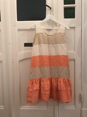 Seidenkleid von See by Chloe Blockfarben in schönen Pastells