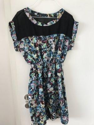 Seidenkleid Zara Blumen