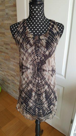 Seidenlongshirt/ Kleid
