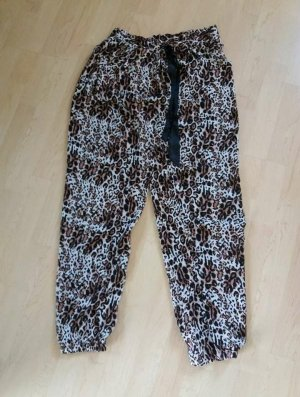 Amisu Pyjama zwart-lichtbruin